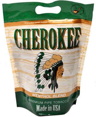 Cherokee Menthol Tobacco 16oz Bag