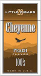 Cheyenne Filtered Cigars -Peach 100 Box