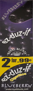 ROYAL BLUNTS EZ-DUZ-IT ROLL CIGARILLO - BLUEBERRY