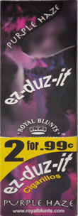 ROYAL BLUNTS EZ-DUZ-IT ROLL CIGARILLO - PURPLE HAZE