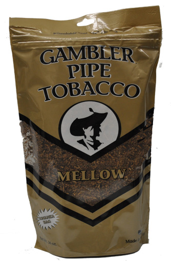 Gambler Mellow Pipe Tobacco 16oz Bag