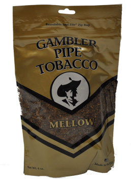 Gambler Mellow Pipe Tobacco 6oz Bag