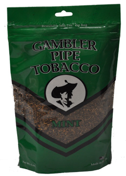 Gambler Mint Pipe Tobacco 6oz Bag