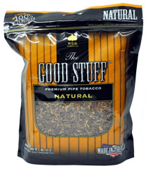 The Good Stuff Natural Pipe Tobacco 6oz
