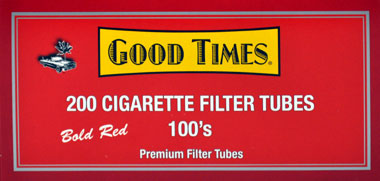 Good Times Filter Tubes Red 100