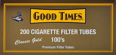 Good Times Filter Tubes Gold 100