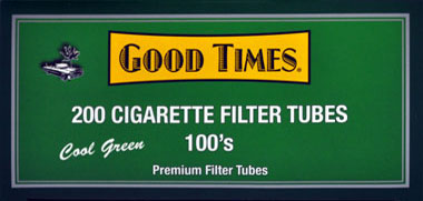 Good Times Filter Tubes Green 100