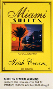 MIAMI SUITES IRISH CREAM  5 - 5PKS