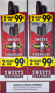 White Owl Cigarillos Sweet - Foil Pouch 30CT 2/$0.99