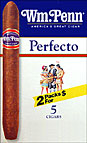 WM. PENN PERFECTO 10/5PKS PROMOTIONAL CARTON
