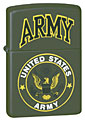 ZIPPO U.S. ARMY - GREEN MATTE