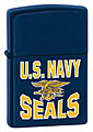 ZIPPO U.S. NAVY SEALS - NAVY MATTE