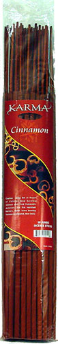 KARMA CINNAMON 50CT JUMBO INCENSE STICKS 50ct