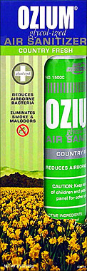 OZIUM GLYCOL-IZED AIR SANITIZER COUNTRY FRESH 0.8OZ