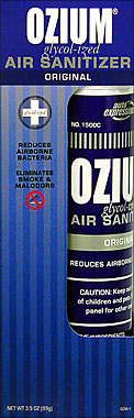 OZIUM GLYCOL-IZED AIR SANITIZER ORIGINAL 3.5OZ
