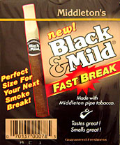 BLACK & MILD FAST BREAK 10/10PK BOX