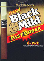 BLACK & MILD FAST BREAK 10/6PK BOX