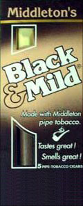 BLACK & MILD CIGARS 10/5PKS