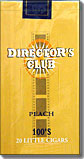 Directors Club Peach Filtered Cigars
