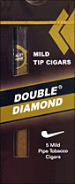 Double Diamond Mild Tip Cigar