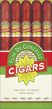 Flor De Gonzalez Torpedo - Bundle Medium Brown