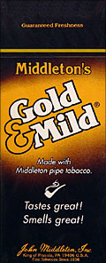 GOLD & MILD CIGARS 25 COUNT BOX