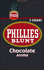 PHILLIES BLUNT CHOCOLATE 10/5PKS