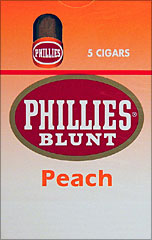 PHILLIES BLUNT PEACH 10/5PKS