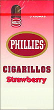 PHILLIES CIGARILLOS STRAWBERRY 6/5PKS