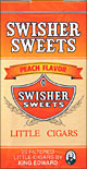 SWISHER SWEETS LITTLE CIGARS PEACH 10/CTN
