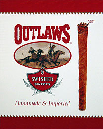 SWISHER SWEETS OUTLAWS 6/8 PKS