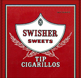 Swisher Sweets Tip Cigarillos 50ct Box