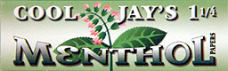 Cool Jays Menthol 1 1/4 Herbal Papers 24ct Box