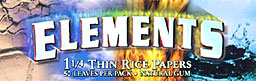 ELEMENTS THIN RICE PAPERS 25CT. - 1 1/4