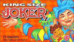 JOKER KING SIZE ROLLING PAPERS  24CT