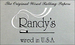 RANDY'S ORIGINAL WIRED ROLLING PAPERS 25/25CT BOOKLETS