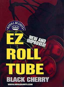 ROYAL BLUNTS EZ ROLL TUBE - BLACK CHERRY