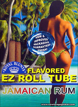 ROYAL BLUNTS EZ ROLL TUBE - JAMAICAN RUM