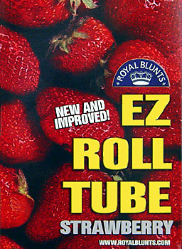 ROYAL BLUNTS EZ ROLL TUBE - STRAWBERRY