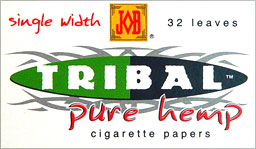 JOB TRIBAL PURE HEMP SINGLE WIDTH 24CT BOX