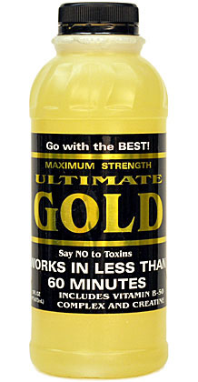 Ultimate Gold Detox Drink 16FL oz.