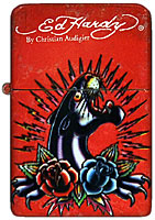 Ed Hardy Tattoo Lighter - Panther Design