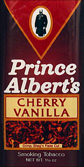 Prince Albert Cherry Vanilla Pipe Tobacco 6 - 1.5oz Packs