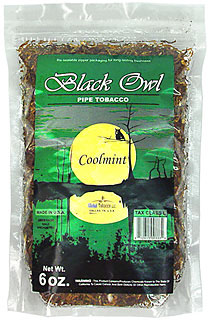 Black Owl Coolmint 6oz Bag