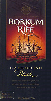 Borkum Riff Black Cavendish Premium Pipe Tobacco 5ct.
