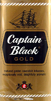 Captain Black Gold Pipe Tobacco 6 - 1.5oz Packs