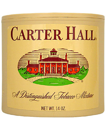 Carter Hall Pipe Tobacco 14oz Can