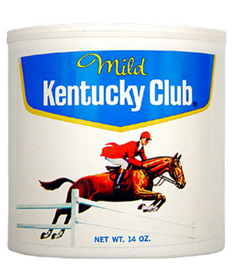 Kentucky Club Mild Pipe Tobacco 14oz Can