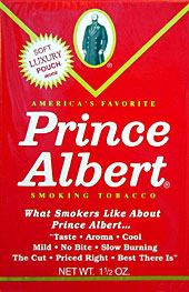 Prince Albert Pipe Tobacco 6 - 1.5oz Packs