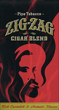 Zig Zag Cigar Blend Pipe Tobacco 6 - 0.75oz Packs
